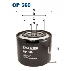 Filtr oleju OP 569