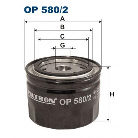 Filtr oleju OP 580/2