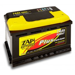 ZAP Piastow Plus 74Ah 680A
