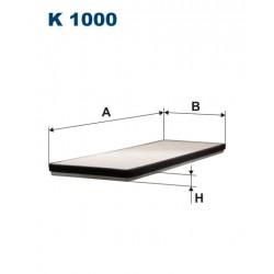 Filtr kabinowy K1000