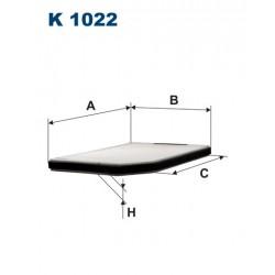 Filtr kabinowy K1022