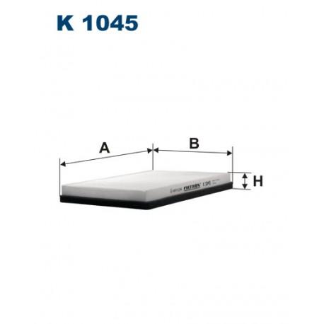 Filtr kabinowy K1045