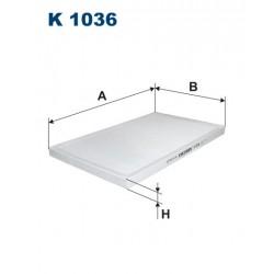 Filtr kabinowy K1036