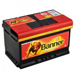 Banner Power Bull 12V 72Ah 660A