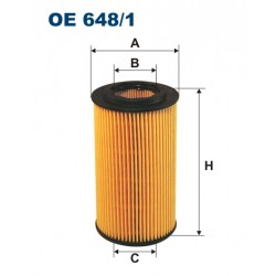 Filtr OE 648/1