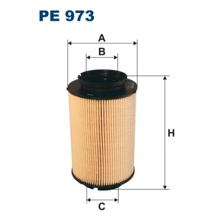 Filtr paliwa PE 816/5