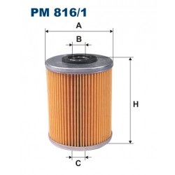 Filtr paliwa PM 816/1