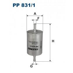 Filtr paliwa PP 831/1