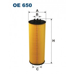 Filtr oleju OE 650