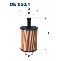 Filtr oleju OE 650/1