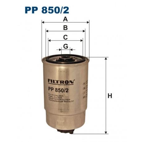 Filtr paliwa PP 850/2