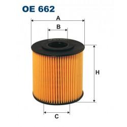 Filtr oleju OE 662