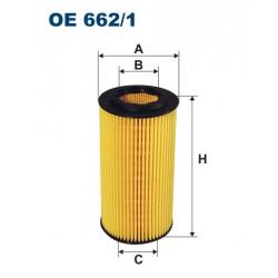 Filtr oleju OE 662/1