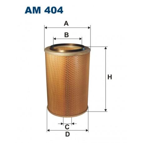 Filtr powietrza AM 404