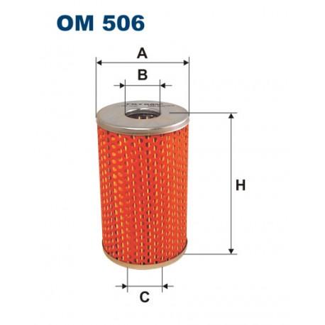 Filtr oleju OM 506