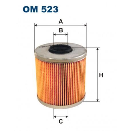 Filtr oleju OM 523