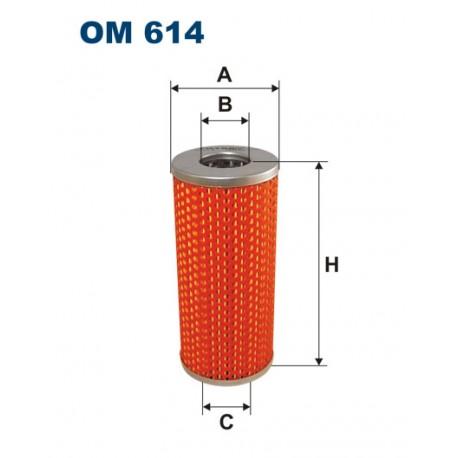 Filtr oleju OM 614